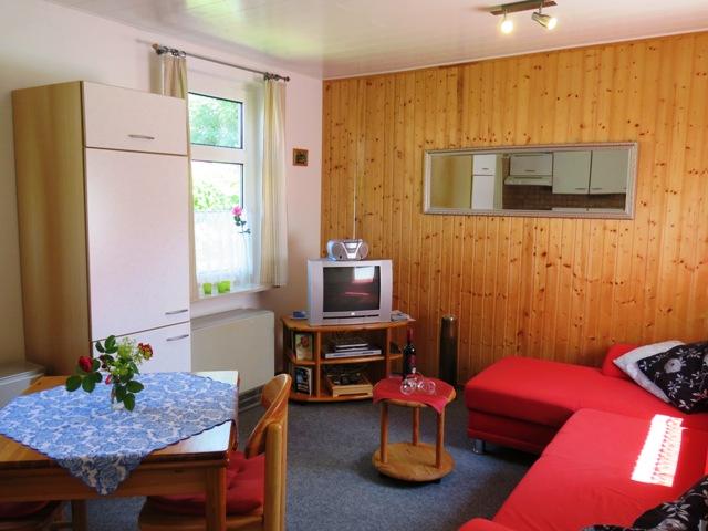 Ferienhaus Wohnzimmer Holtgast