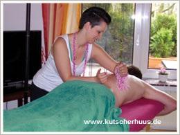 Ferienhaus Wellness Massage