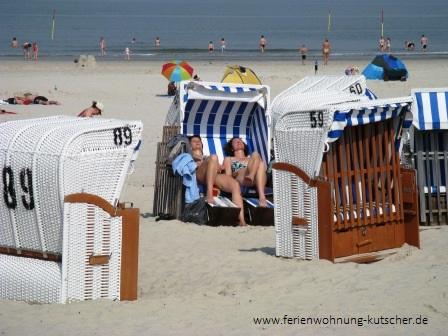 Strand Spiekeroog